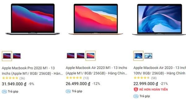 Tiki có hỗ trợ các bạn mua laptop trả góp