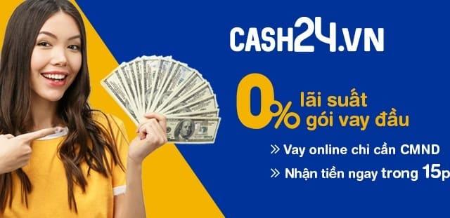 Cần vay tiêu dùng nhớ ngay Cash24 - Có Ví MoMo yên tâm thanh toán