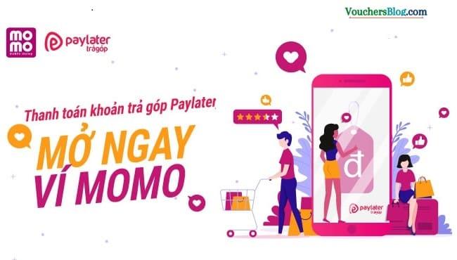 Thanh toán khoản vay Paylater bằng Ví MoMo