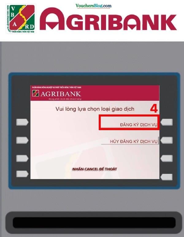cách đăng kí giao dịch Internet - Ecommerce của ngân hàng Agribank