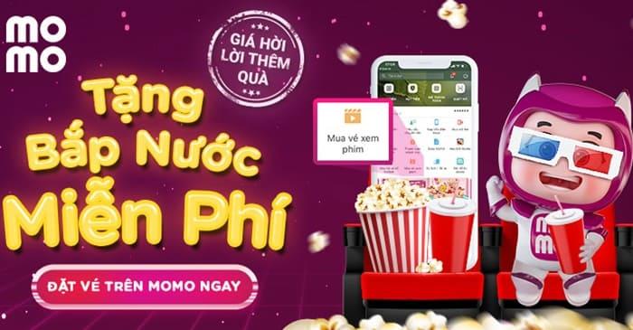 Hướng dẫn cách mua vé xem phim trên ví momo