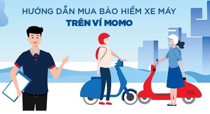 Hướng dẫn cách mua bảo hiểm xe máy trên Ví MoMo
