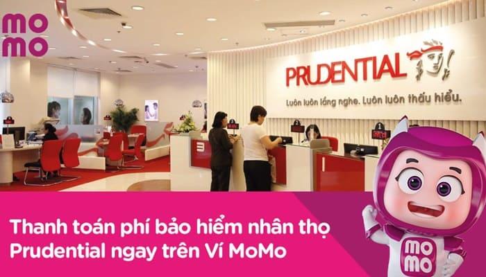 Ví MoMo triển khai thu hộ Bảo hiểm Nhân thọ Prudential
