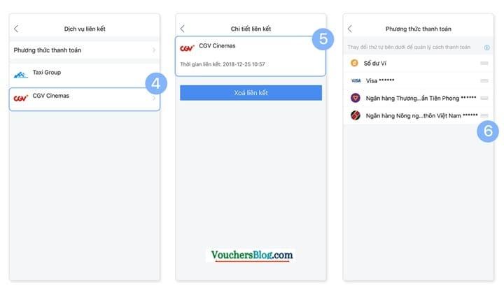 Các bước thay đổi nguồn tiền thanh toán trong Ví AirPay