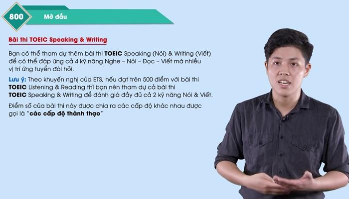 Giới thiệu khóa học 30 days for 800 TOEIC Listening