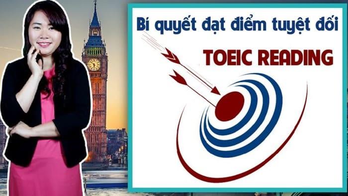 Giới thiệu khóa học Bí quyết đạt điểm tuyệt đối bài thi TOEIC Reading