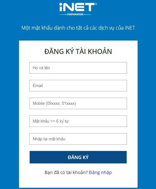 Cách đăng ký và đăng nhập tài khoản trên Unica
