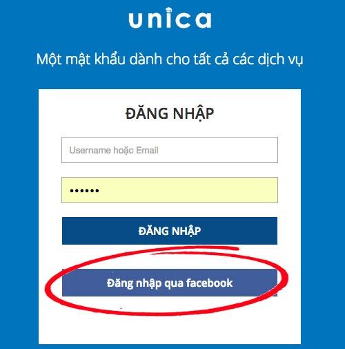 Cách đăng ký và đăng nhập tài khoản trên UnicaCách đăng ký và đăng nhập tài khoản trên Unica