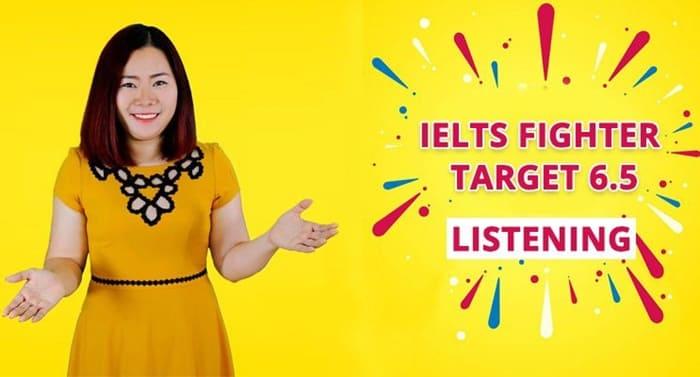 Giới thiệu khóa họcIELTS Fighter Target 6.5 Listening