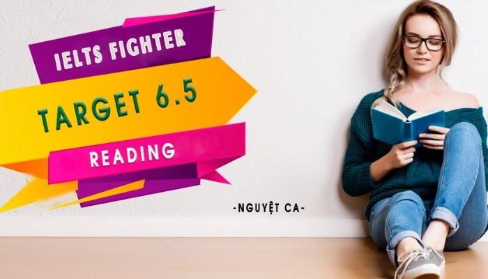 Giới thiệu khóa học IELTS Fighter Target 6.5: Reading