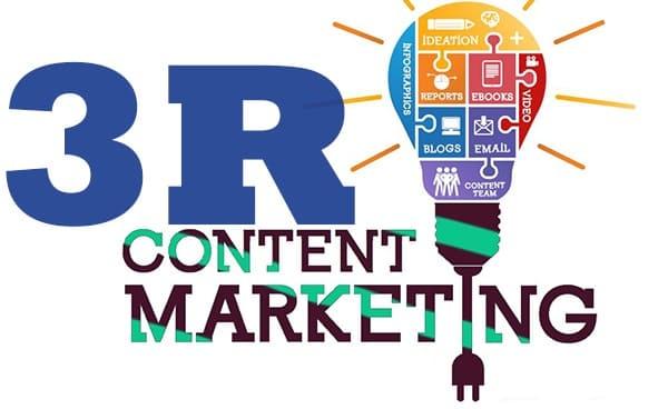 Nguyên tắc 3R là điều vô cùng cần thiết trong Content Marketing