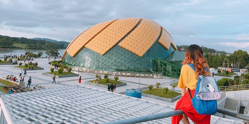 Khu vực trung tâm thành phố Đà Lạt