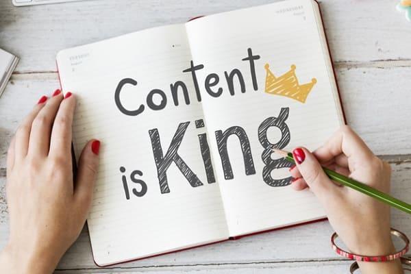 Sử dụng content chất lượng để tăng lượng tiếp cận