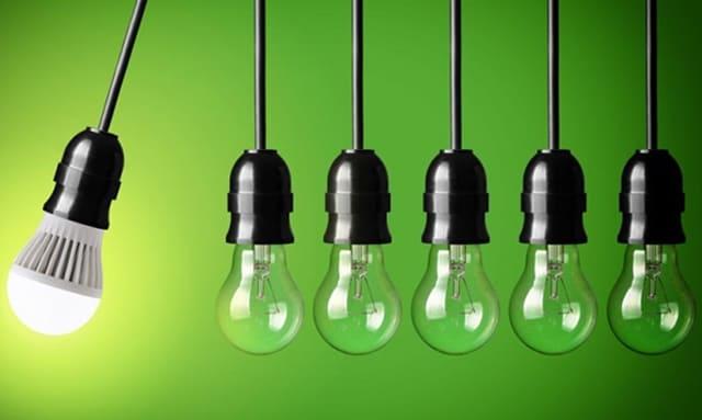 Sử dụng đèn LED giúp gia đình tiết kiệm điện hơn