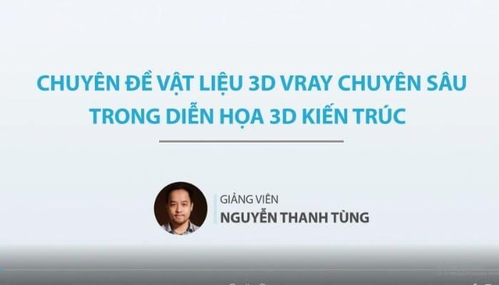 Chuyên đề ánh sáng 3d Vray chuyên sâu trong diễn họa 3d kiến trúc