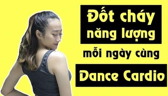 Giới thiệu khóa họcnhảy Dance Cardio - Đốt cháy năng lượng mỗi ngày