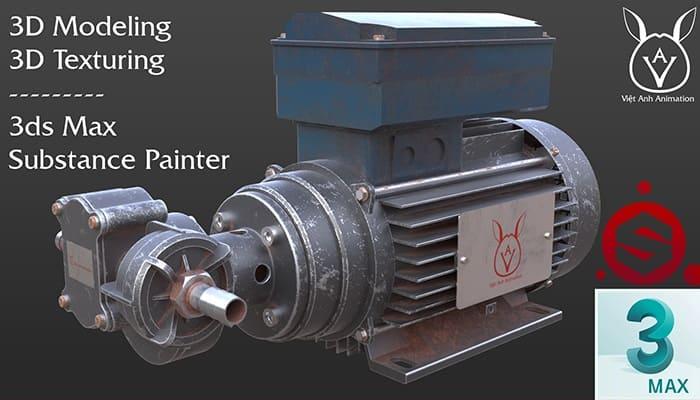 Giới thiệu khóa học Dựng hình 3D Model với 3ds Max & Substance Painter