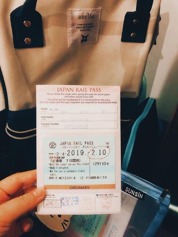 Có nhiều loại thẻ JR Pass để bạn lựa chọn tùy theo thời gian và nhu cầu du lịch của bạn