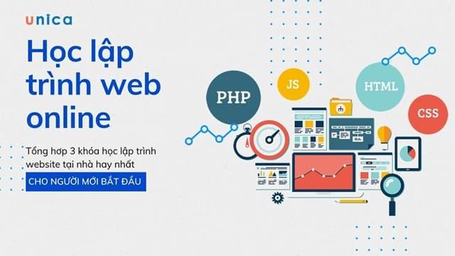 3 Khóa học lập trình web online từ Zero tới Hero hiệu quả