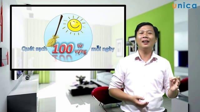 Khóa học quét sạch 100 từ vựng mỗi ngày