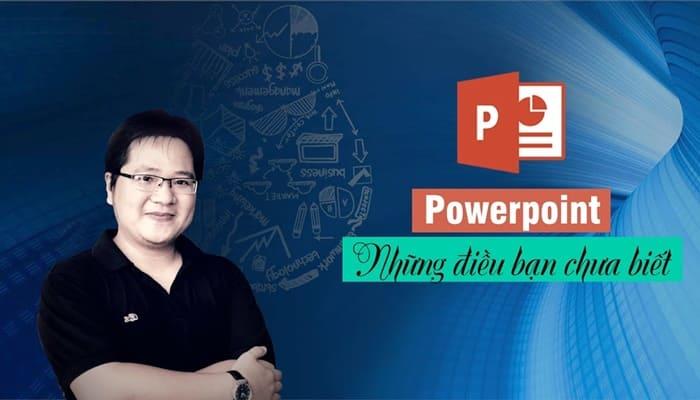 Giới thiệu khóa học Powerpoint - Những điều bạn chưa biết