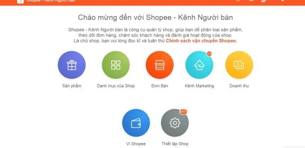 Cách tạo shop trên Shopee