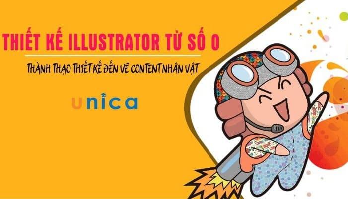 Giới thiệu khóa học Thiết kế illustrator từ số 0 - Thành thạo vẽ content nhân vật