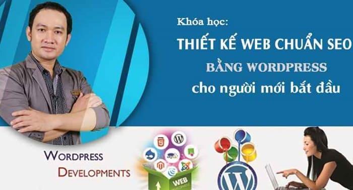 Giới thiệu về khóa học Thiết kế Web chuẩn SEO bằng WordPress