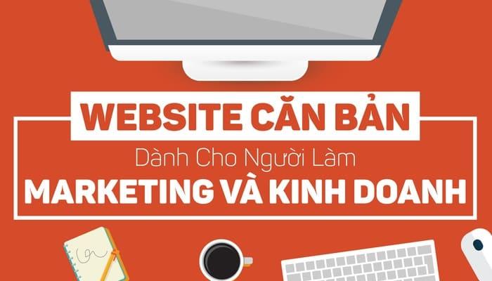 Giới thiệu khóa học Làm Website căn bản cho người làm Marketing và Kinh doanh