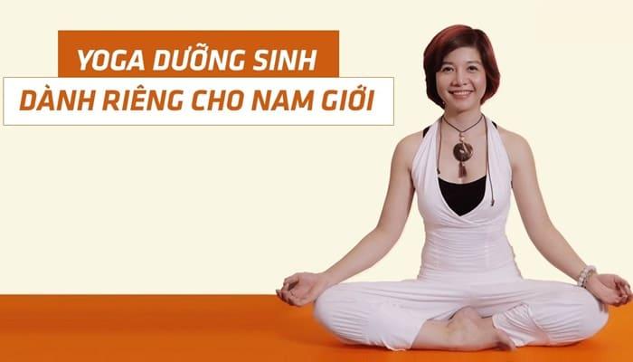 Giới thiệu khóa học Yoga dưỡng sinh dành riêng cho nam giới