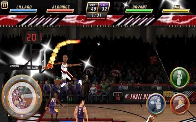NBA Jam là top game trên Android hay