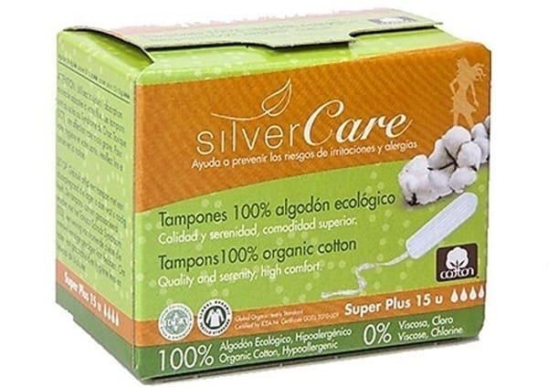 Silvercare Tampon Hữu Cơ 4 Giọt Super Plus