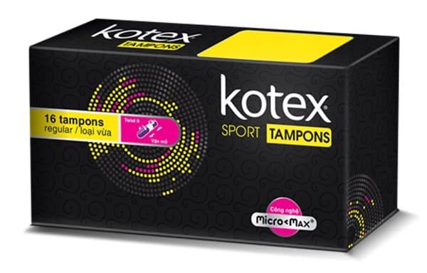 Kotex Tampon Sport Loại Vừa
