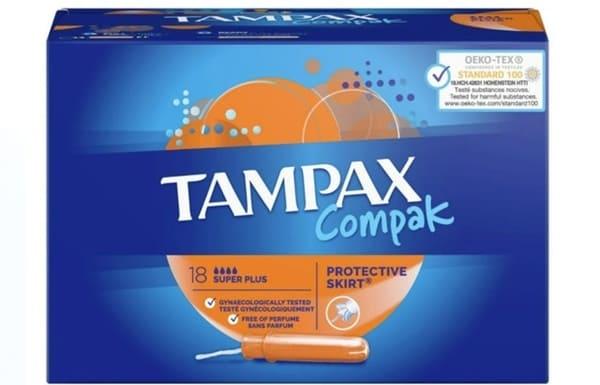 Tampax Tampon Tampax Compak Super Plus