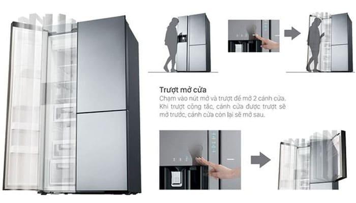Cửa tự động giúp việc thao tác mở cửa dễ dàng hơn