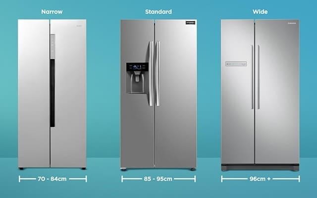 Lưu ý về dung tích của tủ lạnh cũ đã qua sử dụng