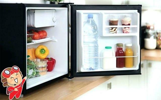 Giá thành phải chăng của tủ lạnh mini là yếu tố giúp thiết bị ngày càng được ưa chuộng hiện nay