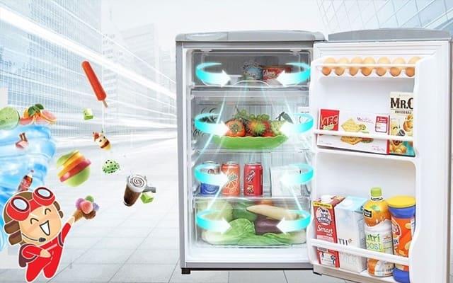 Tuy không sở hữu quá nhiều công nghệ hiện đại nhưng tủ lạnh mini vẫn đáp ứng nhu cầu bảo quản thực phẩm