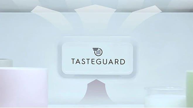 Công nghệ TasteGuard có khả năng loại bỏ đến 99.8% vi khuẩn và mùi khó chịu để đảm bảo chất lượng thực phẩm