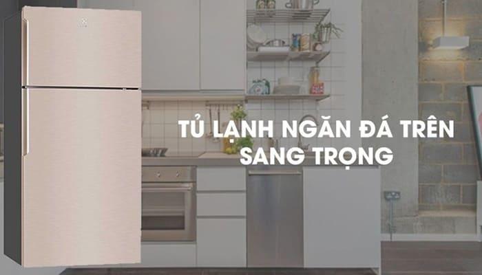 Tủ lạnh Electrolux Inverter 503 lít ETB5400B-G
