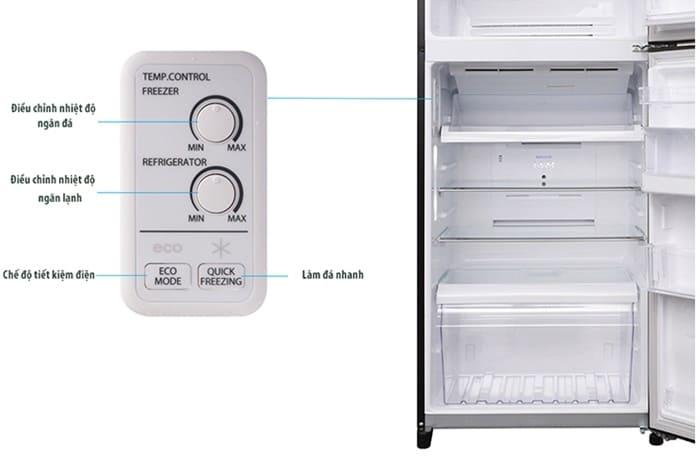 Hướng dẫn sử dụng tủ lạnh Toshiba Inverter