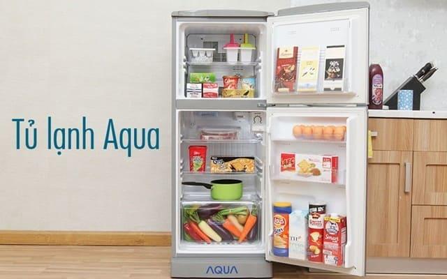 Tủ lạnh Aqua giá rẻ phù hợp với nhiều gian đình
