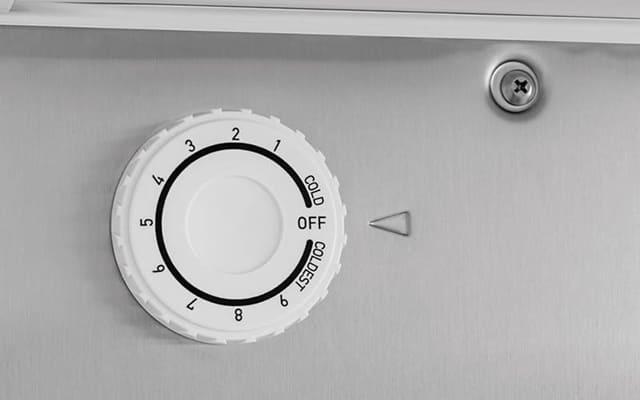 Chọn nhiệt độ tủ lạnh khi mới mua về ở mức thấp nhất là cách sử dụng tủ lạnh đúng