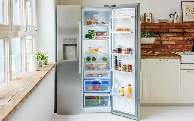 Để thực phẩm vừa phải, không nhồi nhét là cách sử dụng tủ lạnh đúng