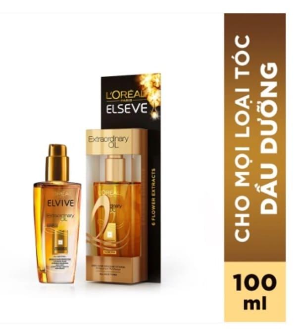 L'ORÉAL PARIS Dầu dưỡng tóc L'Oréal Paris Elseve Extraordinary Oil 100ml