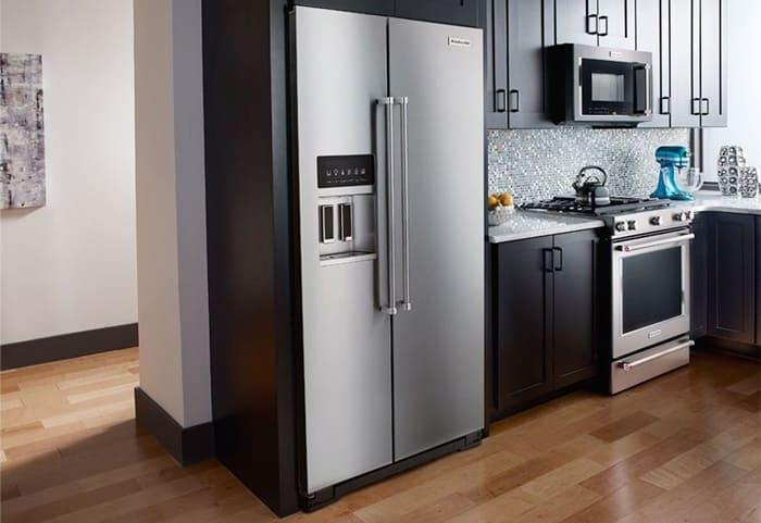 Tủ lạnh Side by Side thiết kế sang trọng