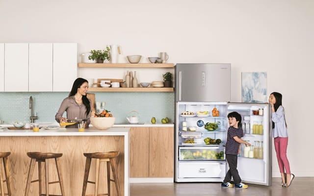 Dung tích và công suất tủ lạnh nên được chọn dựa theo số lượng thành viên gia đình