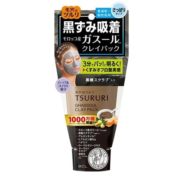 BCL Mặt Nạ Đất Sét Tsururi Ghassoul Mineral Clay Pack