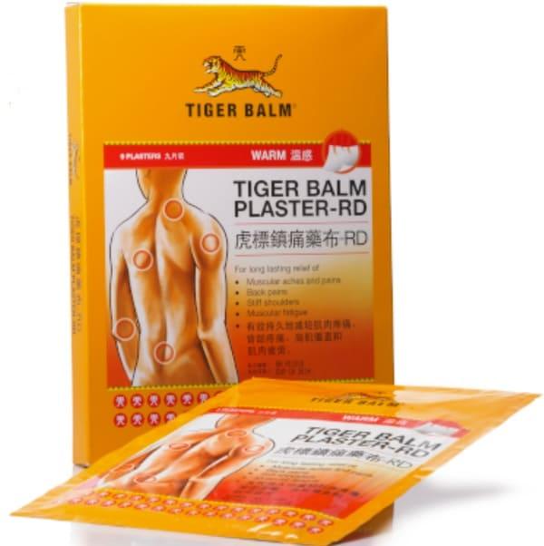 Tiger Balm Miếng Dán Giảm Đau Tiger Balm