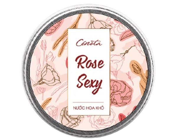 Cetona Nước Hoa Khô Rose Sexy